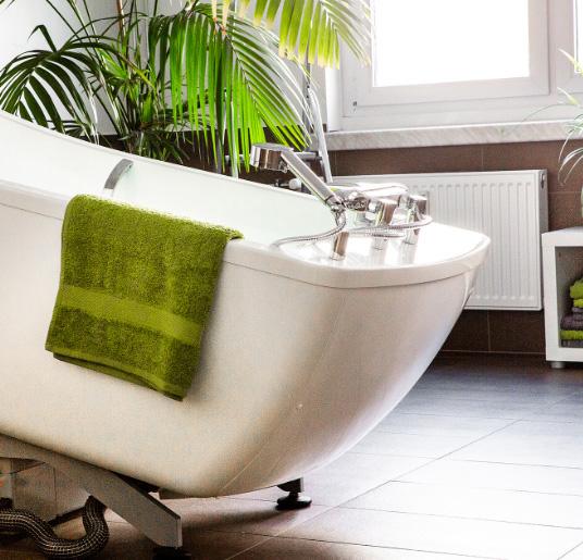 Altersgerechte Badewanne